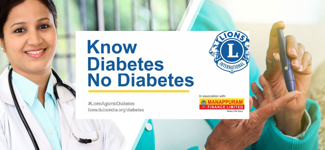 The launch of Diabetes as a Global Cause by Lions Clubs International, Chicago